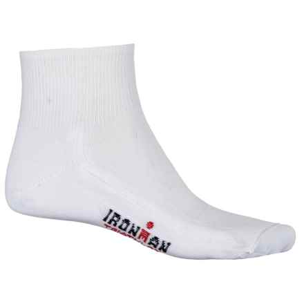 Wigwam IRONMAN® Triathlete Pro Socks - Ankle (For Men and Women) in White - 2nds