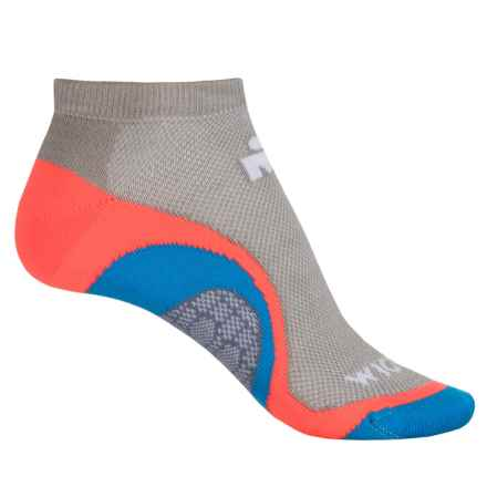 Wigwam IRONMAN® Velocity Pro Running Socks - Below the Ankle (For Men) in Pink Conch - Closeouts