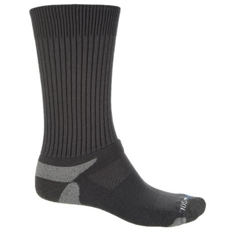Wigwam KentWool Tour Standard Socks - Merino Wool, Crew (For Men) in Charcoal/Grey