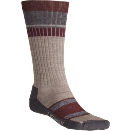 f5f39c34d68 Wigwam Khaki Pikes Peak Pro Lightweight Hiking Socks - Crew (For Men and  Women)