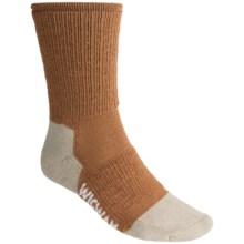 Wigwam Light Hiker Socks - Merino Wool Blend, Crew (For Men and Women) in Bark - Closeouts