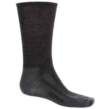 Wigwam Merino Airlite Pro Socks - Merino Wool Blend, Crew (For Men) in Grey Heather/Grey - 2nds