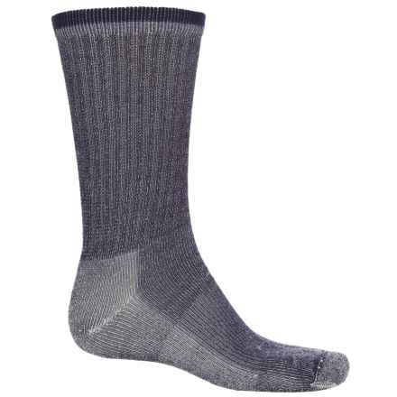 Wigwam Merino Comfort Hiker Socks - Merino Wool, Crew (For Men and Women) in Navy - 2nds