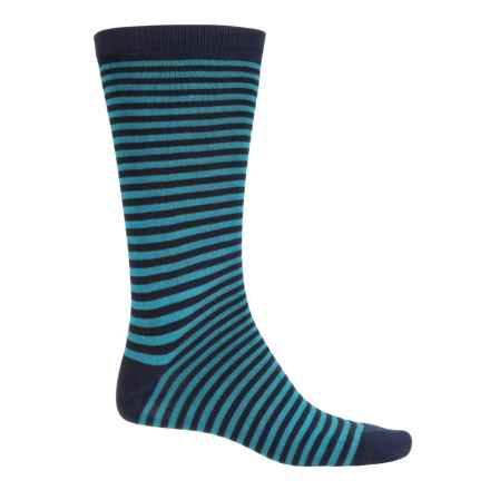 Wigwam Midtown Socks - Crew (For Men and Women) in Navy/Blue - Closeouts