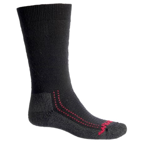 Wigwam Minus 40°C Silver Boot Socks - Merino Wool, Over the Calf (For Men and Women) in Black