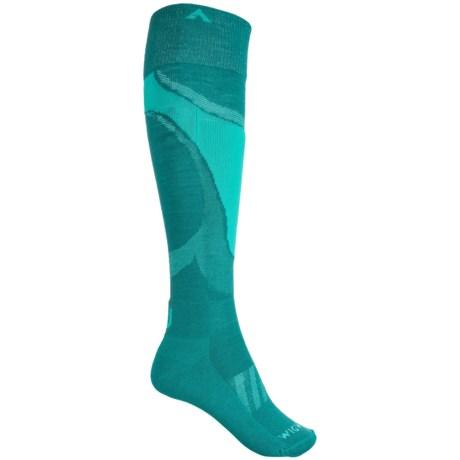 Wigwam Moarri Socks - Over the Calf (For Women) in Parsalng
