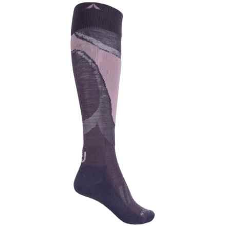 Wigwam Moarri Socks - Over the Calf (For Women) in Purple - 2nds