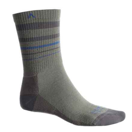 Wigwam Muir Trail Pro Hiking Socks - Crew (For Men and Women) in Foliage Green - 2nds