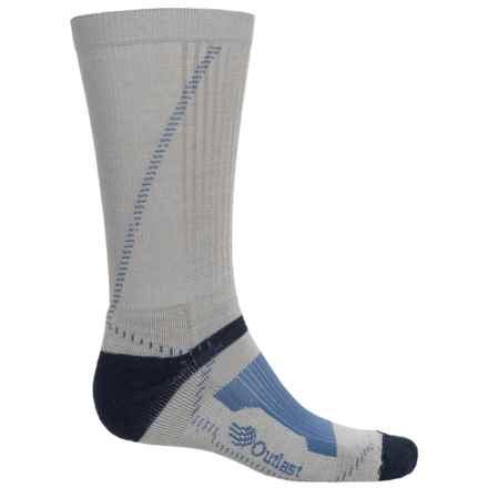 Wigwam Outlast® Hiker Socks - Merino Wool Blend, Mid Calf (For Men) in Grey/Navy - 2nds