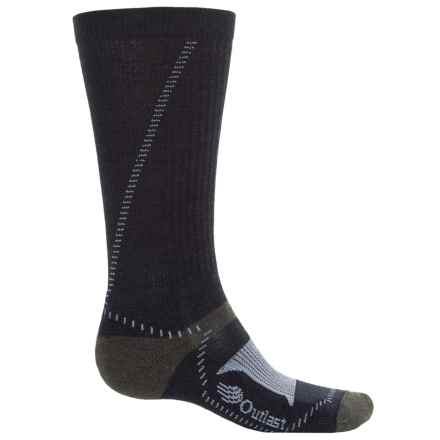 Wigwam Outlast® Hiker Socks - Merino Wool Blend, Mid Calf (For Men) in Navy/Stone/Sage - 2nds