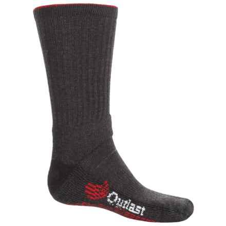 Wigwam Outlast® Weather Shield Hiking Socks - Merino Wool Blend, Crew (For Men) in Black - 2nds
