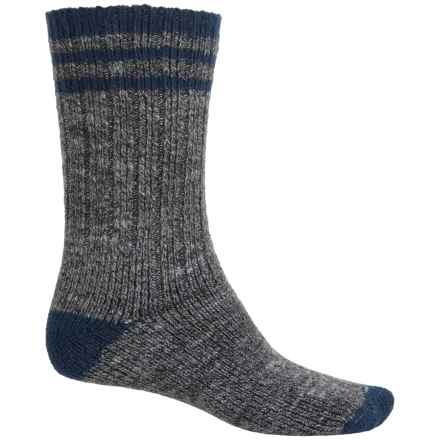 Wigwam Pine Lodge Socks - Over the Calf (For Men) in Charcoal/Navy - 2nds