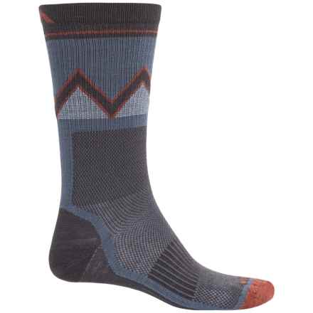 Wigwam Point Reyes Socks - Merino Wool Blend, Crew (For Men) in Grisaile - 2nds