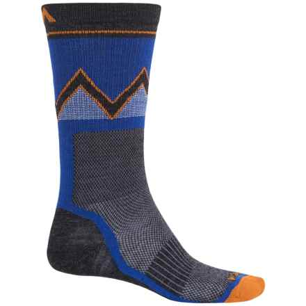 Wigwam Point Reyes Socks - Merino Wool Blend, Crew (For Men) in Spectrum Blue - 2nds