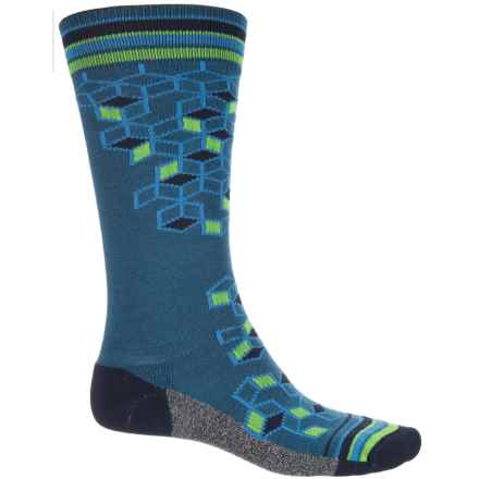 Wigwam Qubix Crew Socks - Merino Wool, Crew (For Men) in Dark Denim - 2nds