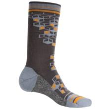 Wigwam Qubix Socks - Merino Wool, Mid Calf (For Men) in Charcoal - Closeouts