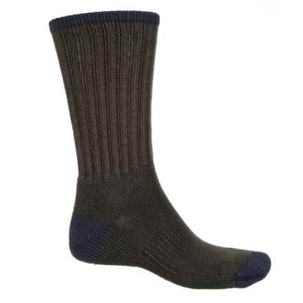 Wigwam Range Socks - Crew (For Men) in Forest/Navy - 2nds