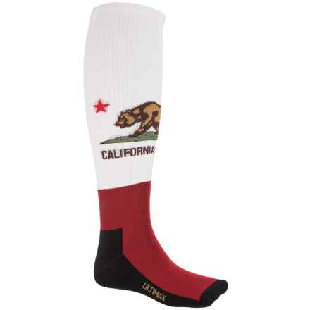 Wigwam Republic Pro Hiking Socks - Merino Wool, Over the Calf (For Men and Women) in White - 2nds