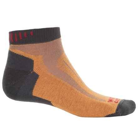 Wigwam Ridge Runner Pro Socks - Dri-Release®, Ankle (For Men) in Orange/Grey - 2nds
