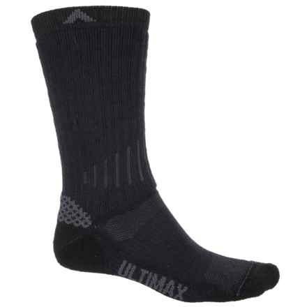 Wigwam Rove Outdoor Hiking Socks - Crew (For Men) in Navy/Black - 2nds