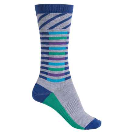 Wigwam Skyline Socks - Dri-Release® TENCEL®, Crew (For Women) in Blue - Closeouts