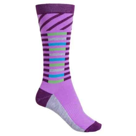 Wigwam Skyline Socks - Dri-Release® TENCEL®, Crew (For Women) in Purple - Closeouts