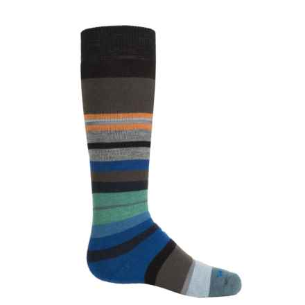 Wigwam Snow Force Socks - Merino Wool, Over the Calf (For Little and Big Kids) in Black - 2nds