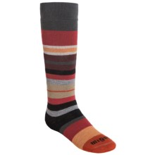 Wigwam Snow Force Socks - Merino Wool, Over the Calf (For Little and Big Kids) in Charcoal - Closeouts