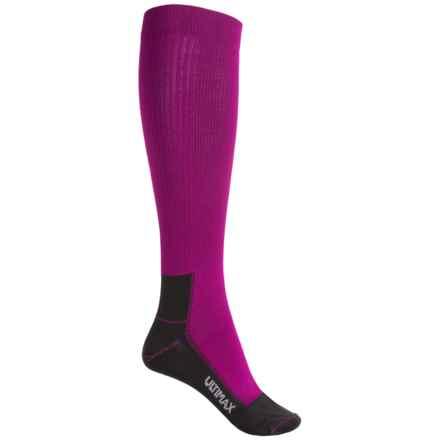 Wigwam Snow Whisper Pro Ski Socks - Over the Calf (For Women) in Purple - 2nds