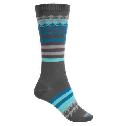 Wigwam Sweet Tooth Socks - Crew (For Women) in Charcoal - Closeouts