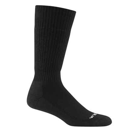 Wigwam Tactical Wool Boot Socks - Midweight, Over the Calf (For Men) in Black - Closeouts