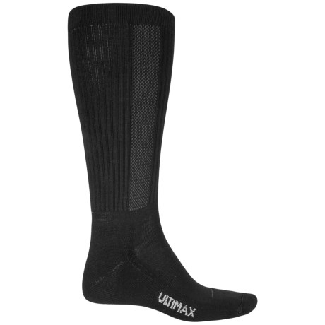 Wigwam Tall Boot Pro Socks - Over the Calf (For Men) in Black