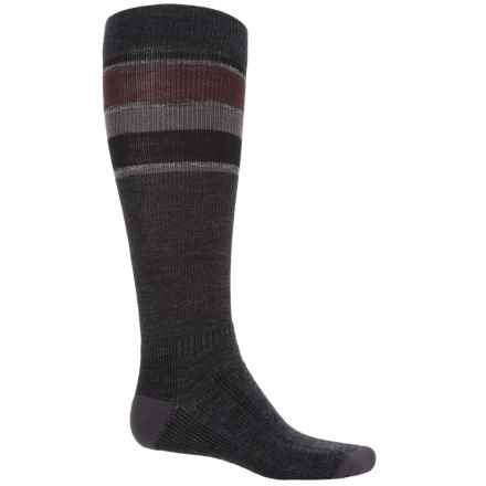 Wigwam Tall Trekker Fusion Socks - Compression, Over the Calf (For Men) in Oxford - 2nds
