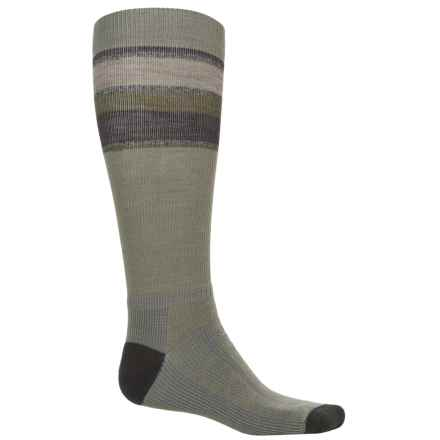 Wigwam Tall Trekker Fusion Socks - Compression, Over the Calf (For Men) in Urban Chic - 2nds