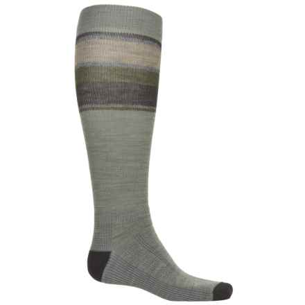 Wigwam Tall Trekker Fusion Socks - Merino Wool, Over the Calf (For Men) in Urban Chic - Closeouts