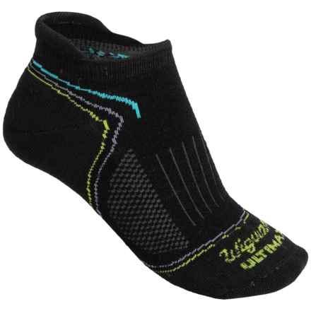 Wigwam Tech Pro Low-Cut Socks - Merino Wool, Below the Ankle (For Women) in Black - Closeouts