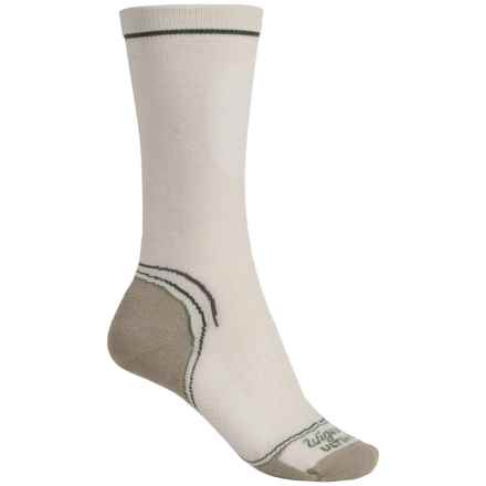 Wigwam Tech Pro Socks - Merino Wool, Crew (For Women) in Natural - Closeouts