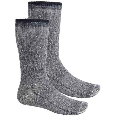 Wigwam Teton Midweight Hiking Socks - 2-Pack, Crew (For Little and Big Kids) in Navy - Closeouts