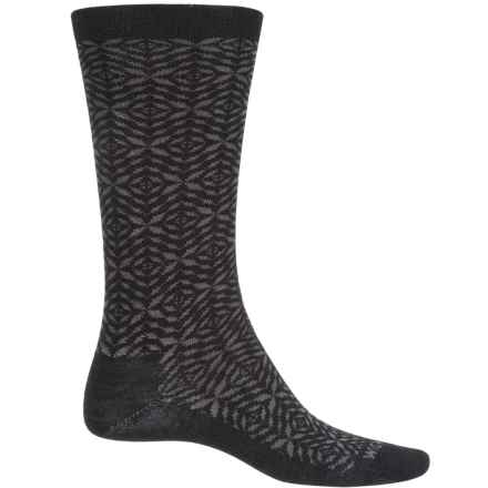 Wigwam Tik Tak Socks - Merino Wool, Crew (For Men and Women) in Black - Closeouts