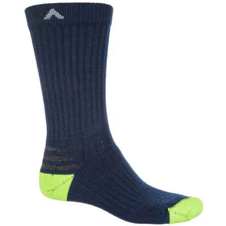 Wigwam Tradesman Work Socks  - Merino Wool, Crew (For Men) in Navy - 2nds