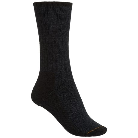 Wigwam Trail Mix Fusion Socks - Merino Wool, Crew (For Men) in Charcoal