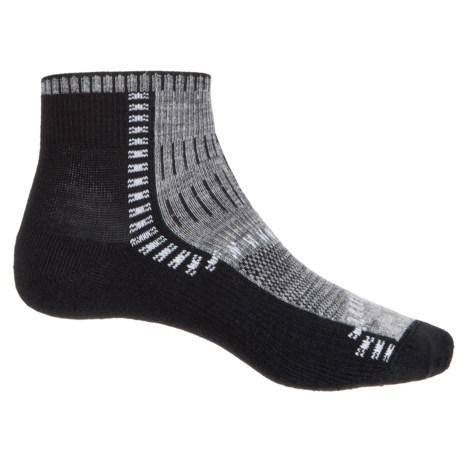 Wigwam Trail Trax Pro Socks - Merino Wool, Quarter Crew (For Men and Women)