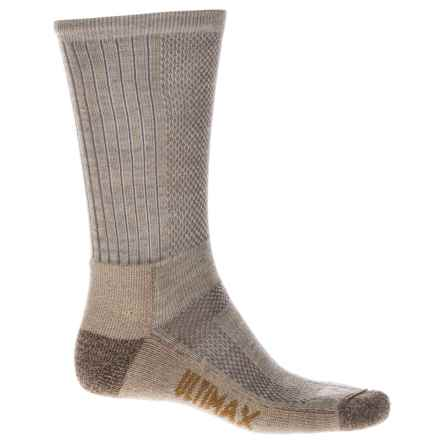 Wigwam Trailblaze Pro Socks - Merino Wool Blend, Crew (For Men) in Khaki - 2nds