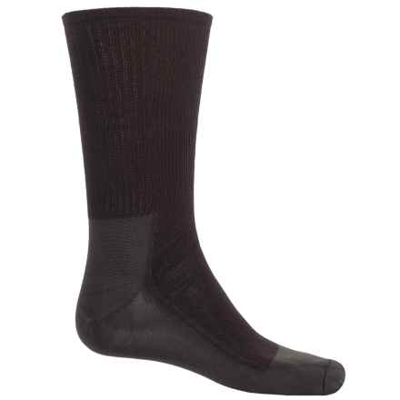 Wigwam Ultimax® Ultimate Pro Liner Socks - Crew (For Men and Women) in Black/Charcoal - 2nds