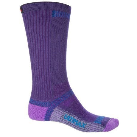 Wigwam Ultra Cool-Lite Socks - Crew (For Men and Women) in Plum Sew
