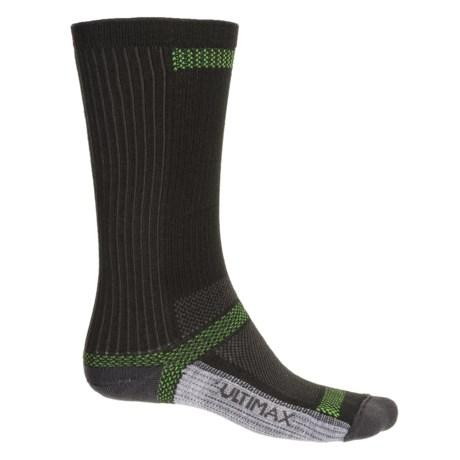 Wigwam Ultra CoolLite® Socks - Crew (For Men and Women) in Black