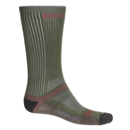 Wigwam Ultra CoolLite® Socks - Crew (For Men and Women) in Moss - 2nds