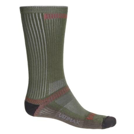 Wigwam Ultra CoolLite® Socks - Crew (For Men and Women) in Moss