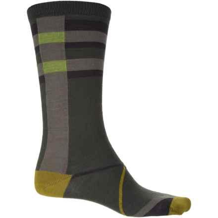 Wigwam Urbanite Socks - Merino Wool, Crew (For Men) in Foliage Green - Closeouts