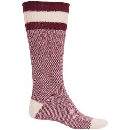 Wigwam Whipper Snapper Socks - Crew (For Men) in Burgundy - 2nds